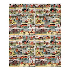 Old Comic Strip Shower Curtain 60  X 72  (medium)  by Valentinaart