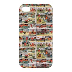 Old Comic Strip Apple Iphone 4/4s Premium Hardshell Case by Valentinaart