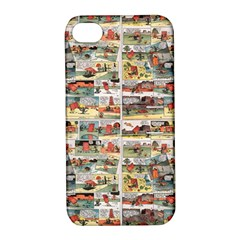 Old Comic Strip Apple Iphone 4/4s Hardshell Case With Stand by Valentinaart