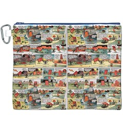 Old Comic Strip Canvas Cosmetic Bag (xxxl) by Valentinaart