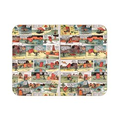 Old Comic Strip Double Sided Flano Blanket (mini)  by Valentinaart