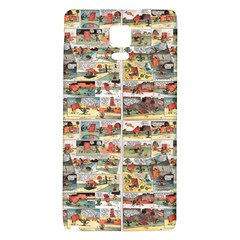 Old Comic Strip Galaxy Note 4 Back Case by Valentinaart