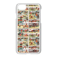 Old Comic Strip Apple Iphone 7 Seamless Case (white) by Valentinaart