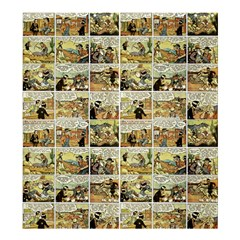 Old Comic Strip Shower Curtain 66  X 72  (large)  by Valentinaart
