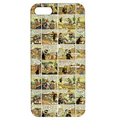 Old Comic Strip Apple Iphone 5 Hardshell Case With Stand by Valentinaart