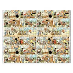Old Comic Strip Rectangular Jigsaw Puzzl by Valentinaart