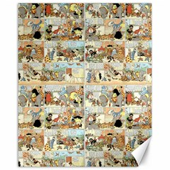 Old Comic Strip Canvas 16  X 20   by Valentinaart