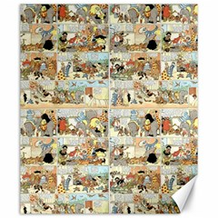 Old Comic Strip Canvas 20  X 24   by Valentinaart