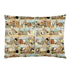 Old Comic Strip Pillow Case by Valentinaart