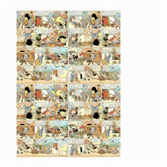 Old Comic Strip Small Garden Flag (two Sides) by Valentinaart