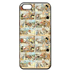 Old Comic Strip Apple Iphone 5 Seamless Case (black) by Valentinaart
