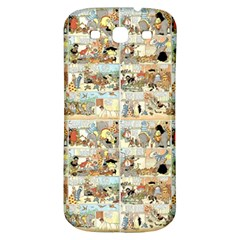 Old Comic Strip Samsung Galaxy S3 S Iii Classic Hardshell Back Case by Valentinaart