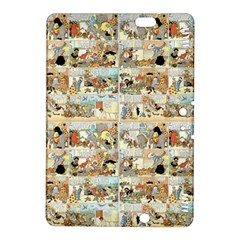 Old Comic Strip Kindle Fire Hdx 8 9  Hardshell Case by Valentinaart