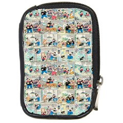 Old Comic Strip Compact Camera Cases by Valentinaart