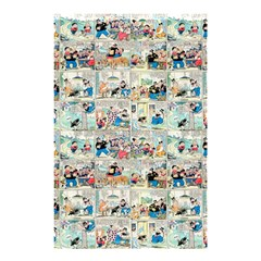 Old Comic Strip Shower Curtain 48  X 72  (small)  by Valentinaart