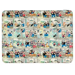 Old Comic Strip Samsung Galaxy Tab 7  P1000 Flip Case by Valentinaart