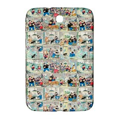 Old Comic Strip Samsung Galaxy Note 8 0 N5100 Hardshell Case  by Valentinaart