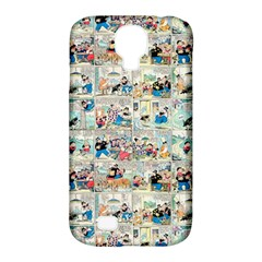Old Comic Strip Samsung Galaxy S4 Classic Hardshell Case (pc+silicone) by Valentinaart