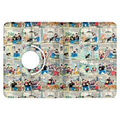 Old Comic Strip Kindle Fire Hdx Flip 360 Case by Valentinaart