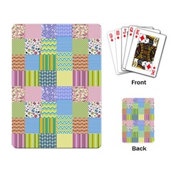 Old Quilt Playing Card by Valentinaart