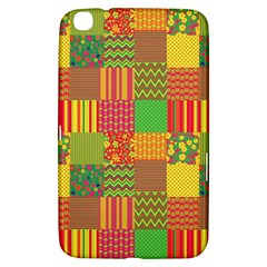 Old Quilt Samsung Galaxy Tab 3 (8 ) T3100 Hardshell Case  by Valentinaart