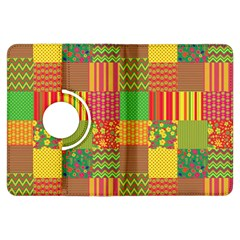 Old Quilt Kindle Fire Hdx Flip 360 Case by Valentinaart