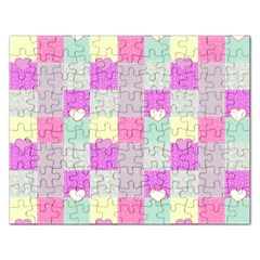 Old Quilt Rectangular Jigsaw Puzzl by Valentinaart