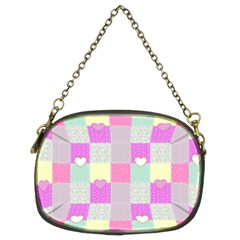 Old Quilt Chain Purses (two Sides)  by Valentinaart
