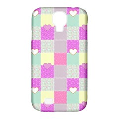 Old Quilt Samsung Galaxy S4 Classic Hardshell Case (pc+silicone) by Valentinaart