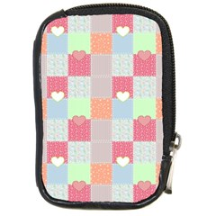 Patchwork Compact Camera Cases by Valentinaart
