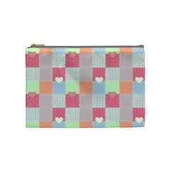 Patchwork Cosmetic Bag (medium)  by Valentinaart
