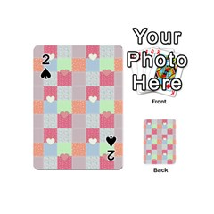 Patchwork Playing Cards 54 (mini)  by Valentinaart