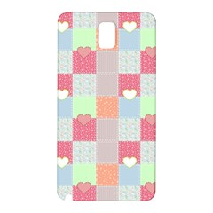 Patchwork Samsung Galaxy Note 3 N9005 Hardshell Back Case by Valentinaart