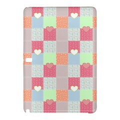 Patchwork Samsung Galaxy Tab Pro 12 2 Hardshell Case by Valentinaart