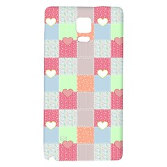 Patchwork Galaxy Note 4 Back Case by Valentinaart