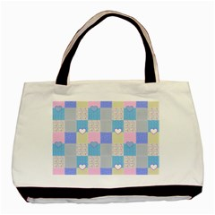 Patchwork Basic Tote Bag by Valentinaart