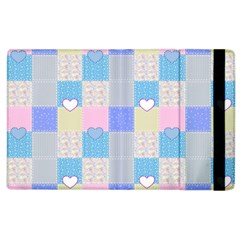 Patchwork Apple Ipad 3/4 Flip Case by Valentinaart