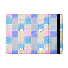 Patchwork Apple Ipad Mini Flip Case by Valentinaart