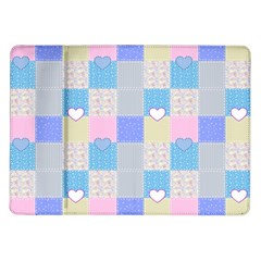 Patchwork Samsung Galaxy Tab 10 1  P7500 Flip Case