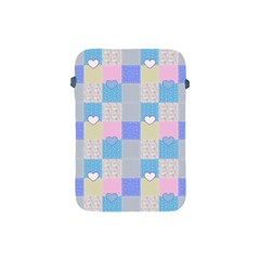 Patchwork Apple Ipad Mini Protective Soft Cases by Valentinaart