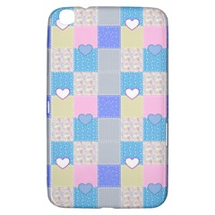 Patchwork Samsung Galaxy Tab 3 (8 ) T3100 Hardshell Case  by Valentinaart
