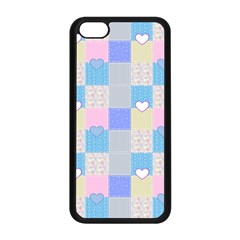Patchwork Apple Iphone 5c Seamless Case (black) by Valentinaart