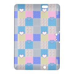 Patchwork Kindle Fire Hdx 8 9  Hardshell Case by Valentinaart