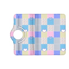 Patchwork Kindle Fire Hd (2013) Flip 360 Case by Valentinaart