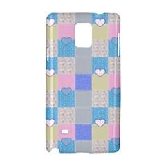 Patchwork Samsung Galaxy Note 4 Hardshell Case by Valentinaart
