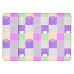 Patchwork Samsung Galaxy Tab 8 9  P7300 Flip Case by Valentinaart