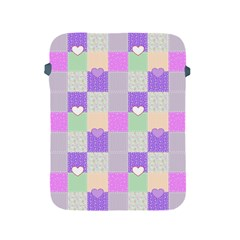 Patchwork Apple Ipad 2/3/4 Protective Soft Cases by Valentinaart