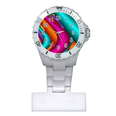 Fractal Wallpaper Color Pipes Plastic Nurses Watch by Amaryn4rt