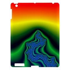 Fractal Wallpaper Water And Fire Apple Ipad 3/4 Hardshell Case by Amaryn4rt