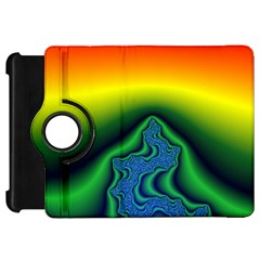Fractal Wallpaper Water And Fire Kindle Fire Hd 7  by Amaryn4rt
